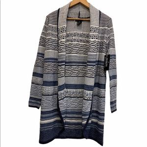 NWT GUILTY Knit Cardigan Size Large